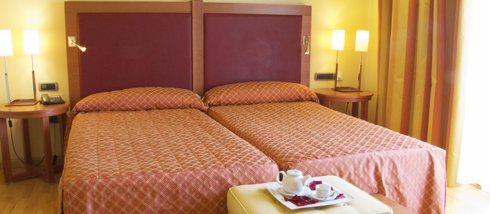 Habitación doble estándar. Hotel Almería Wellness - Vincci Hoteles