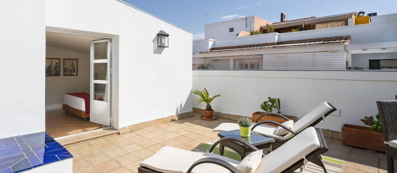 Superior Room with Terrace  -  Vincci La Rábida