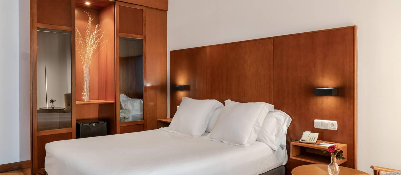 Doppelzimmer. Hotel Ciudad de Salamanca - Vincci Hoteles
