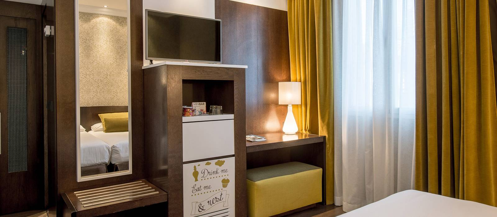 Vincci Doppelzimmer - Vincci Centrum 4*