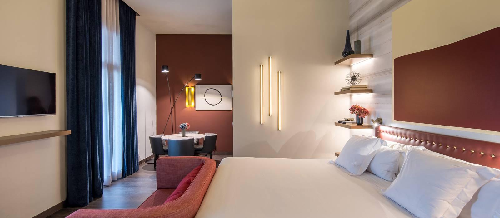 Habitación Deluxe con terraza - Vincci Mae 4*