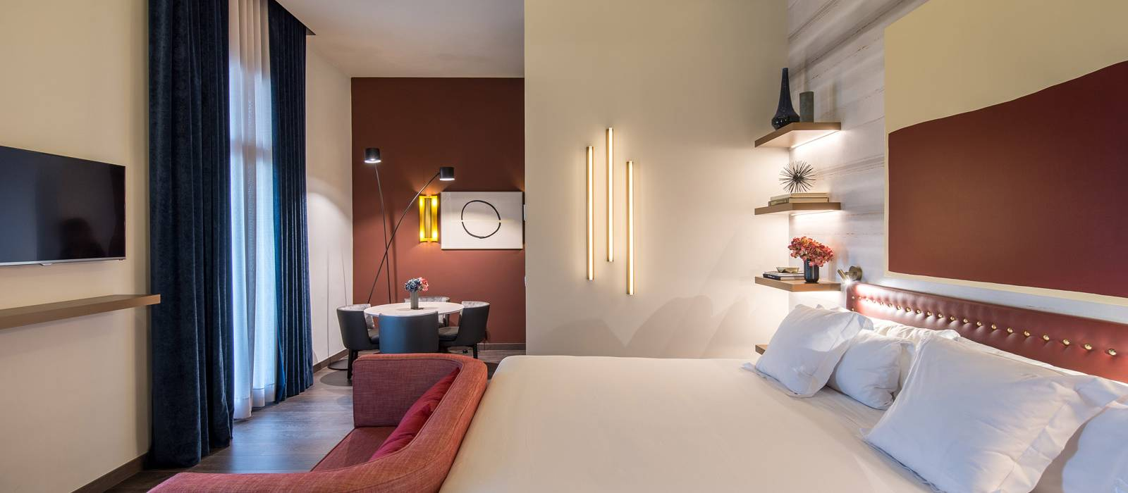Chambre Deluxe avec terrasse - Vincci Mae 4*