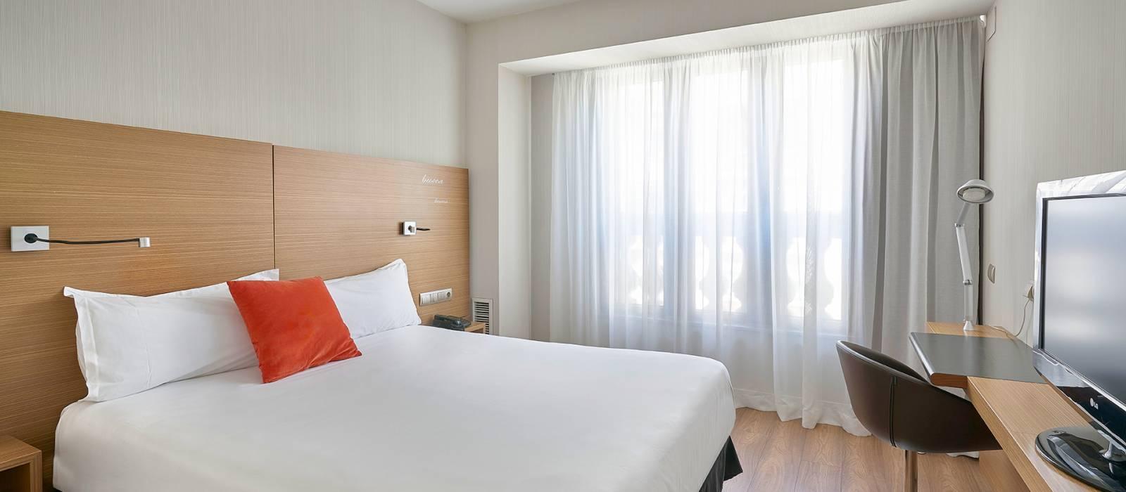 Doppelzimmer - Vincci Zaragoza Zentro 4*