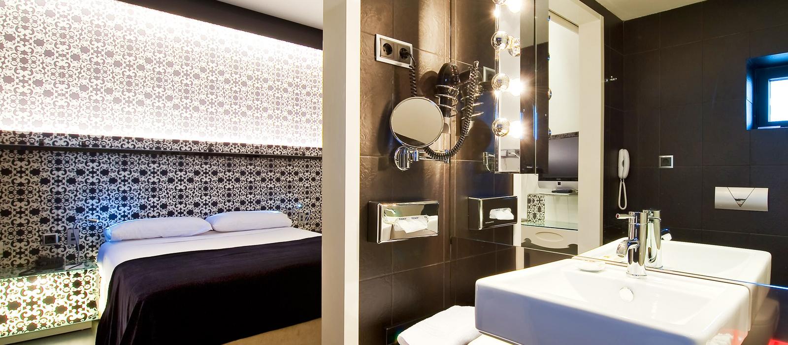 Camere Hotel Madrid Via 66 - Vincci Hoteles - Camera Singola