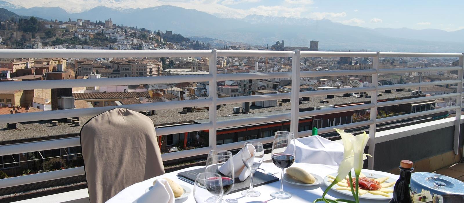 Habitaciones Hotel Granada - Vincci Hoteles - Habitación Junior Suite