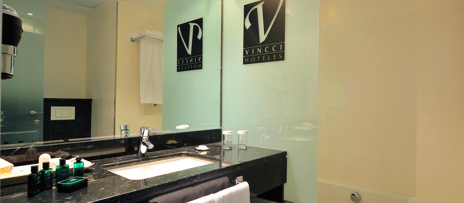 Junior Suite - Chambres Hôtel Malaga - Vincci Hoteles