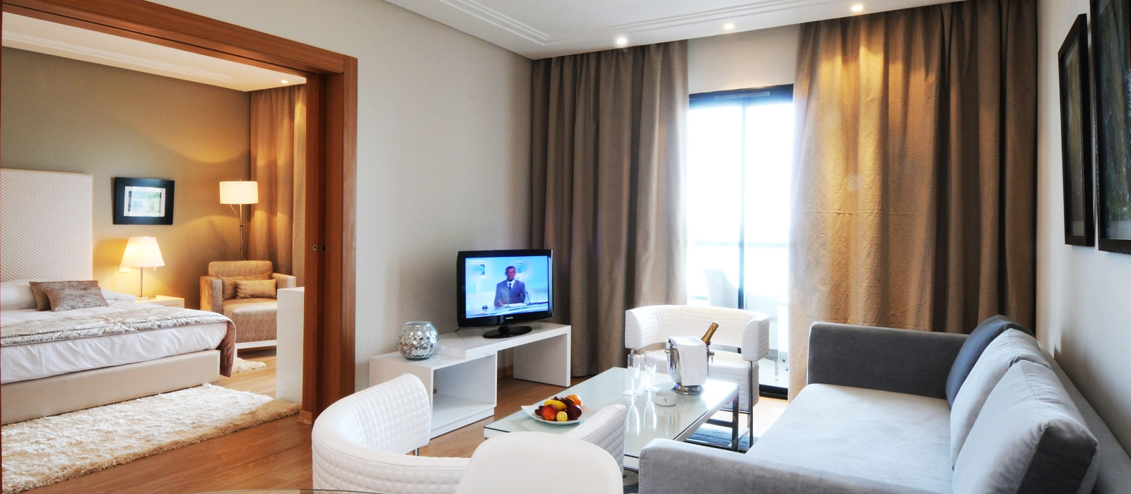 Rooms Hotel Vincci Hammamet Nozha Beach - Family Room Sea View