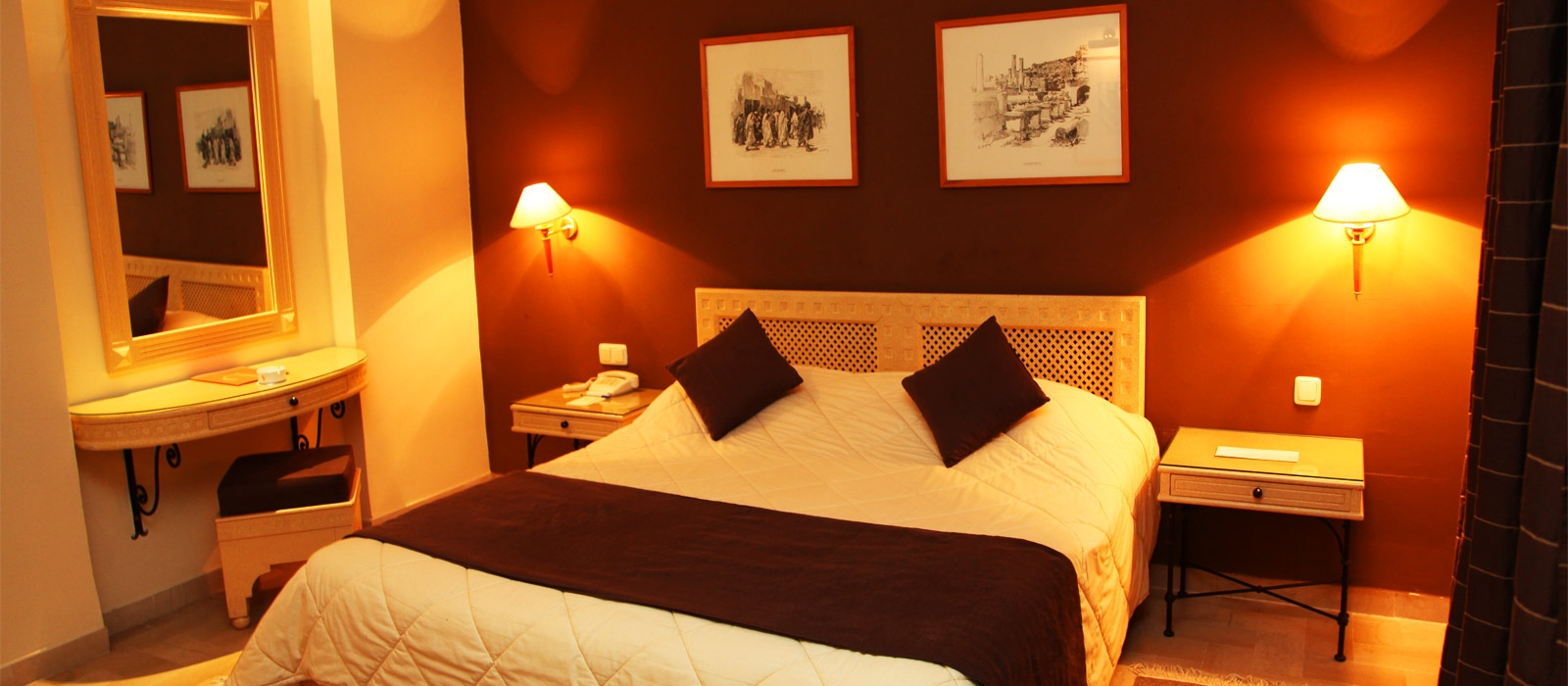 Einzelzimmer. Übernachtung im Hotel Vincci Flora Park in Tunesien