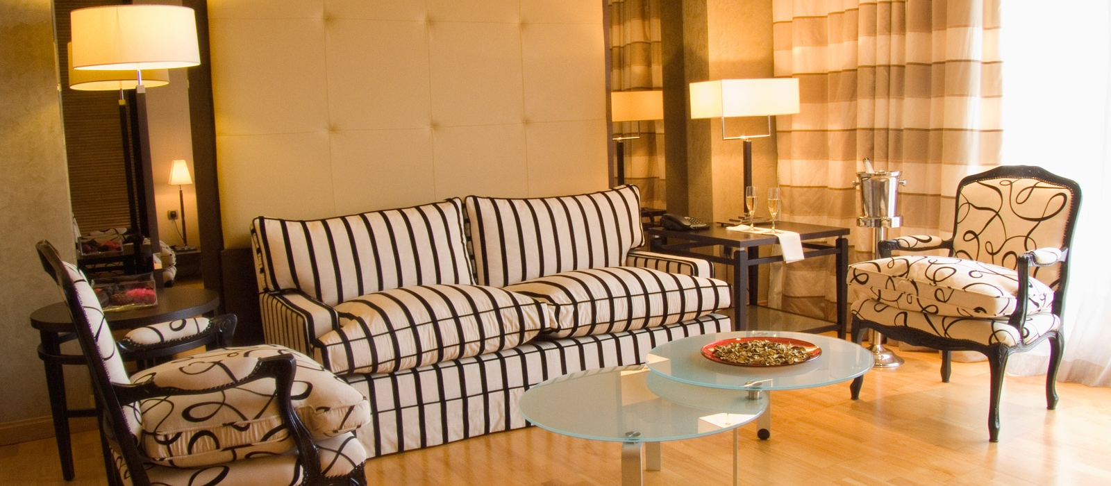 Suite presidencial. Hotel Almería Wellness - Vincci Hoteles