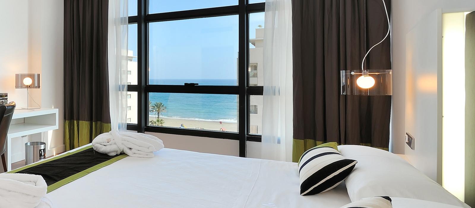 Vista sul Mare - Camere Hotel Malaga - Vincci Hoteles