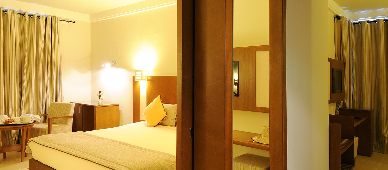 Chambres Hôtel Vincci Helios Beach Djerba - Chambre triple