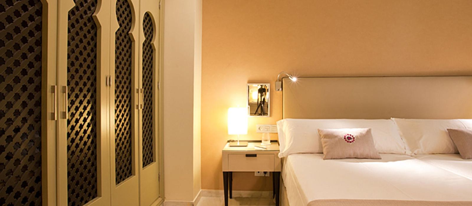 Chambre individuelle - Chambres Hôtel Grenade Albaicín - Vincci Hoteles