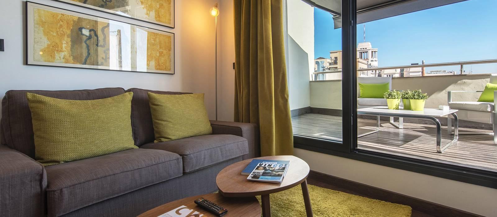 Rooms Hotel Vincci Madrid Centrum - Junior Suite Room