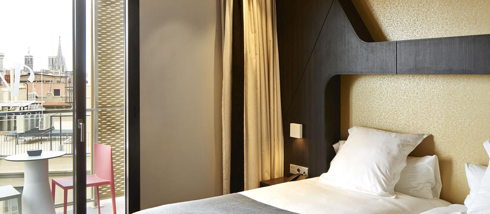 Rooms Hotel Barcelona Gala - Vincci Hotels - Superior Room