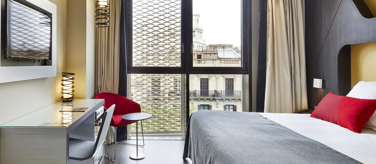 Doppelzimmer. Hotel Barcelona Gala - Vincci Hoteles