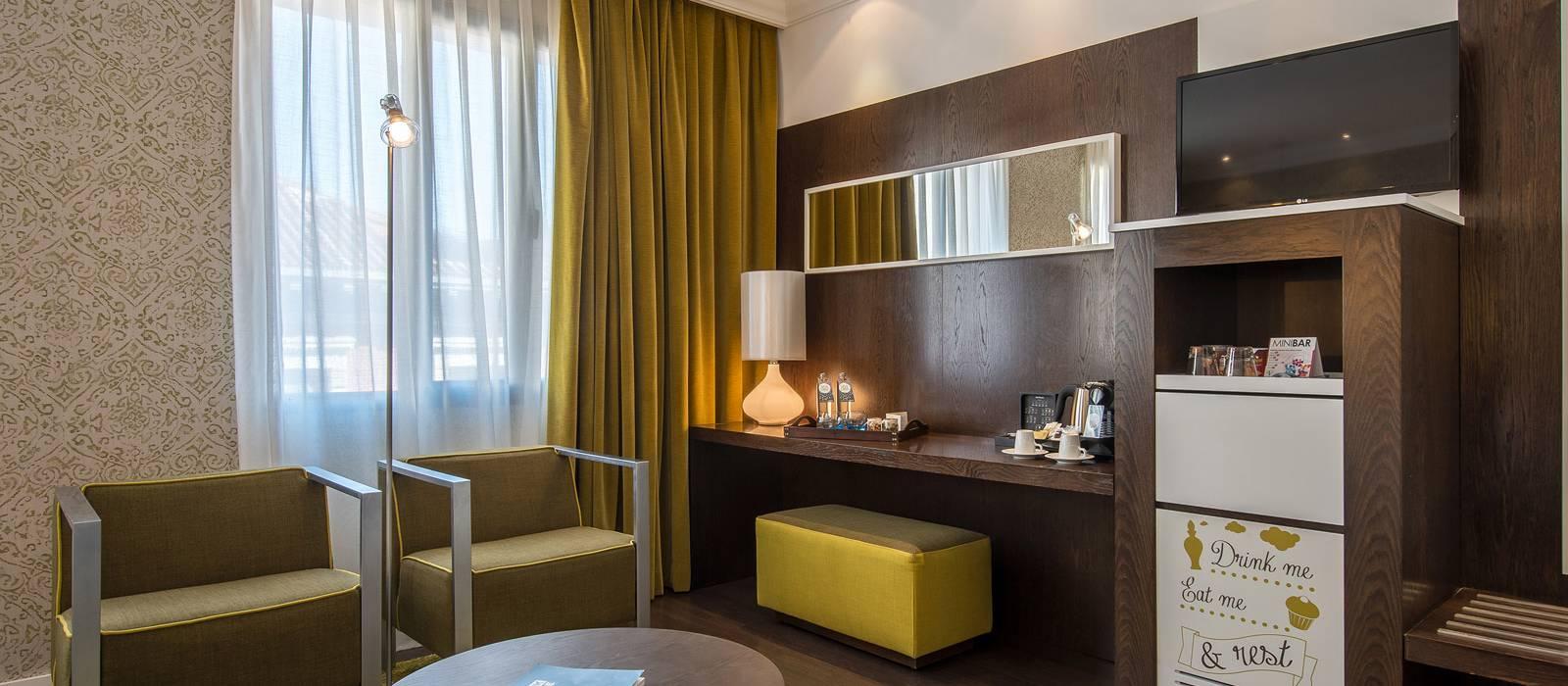 Rooms Hotel Vincci Madrid Centrum - Superior Room