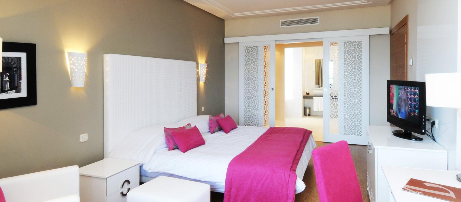 Dreibettzimmer  Hotel Hamammet Nozha Beach - Vincci Hoteles