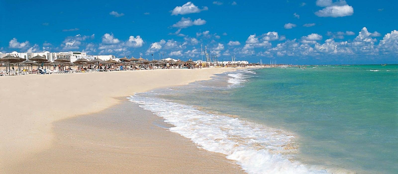 Hamammet Nozha Beach H 244 Tel Vincci Hoteles Emplacement