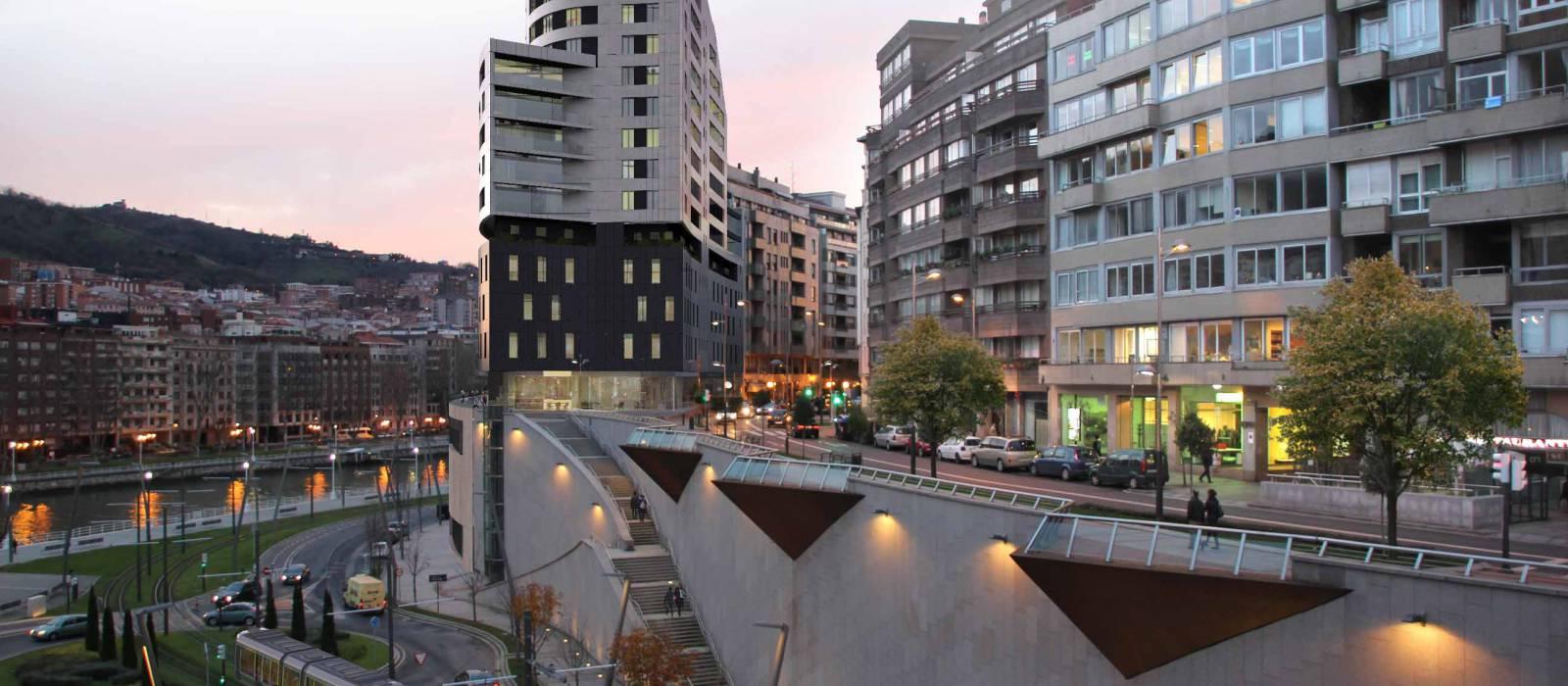 Hotel Bilbao - Fachada 2
