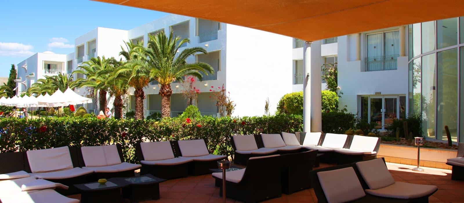 Hoteles Vincci. Hotel Vincci Flora Park in Hammamet in Tunesien.