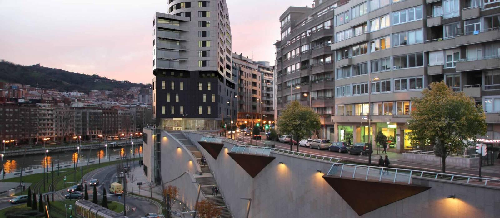 Hotel Vincci Consulado de Bilbao - Fachada