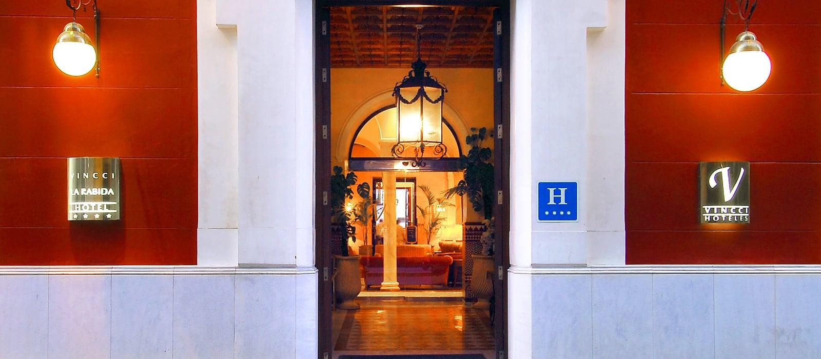 Facciata dell'Hotel - Vincci La Rábida 4*