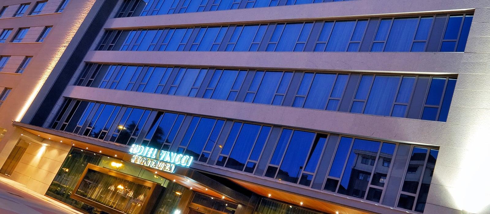 Seitenansicht-Hotel Valladolid Frontaura - Vincci Hoteles