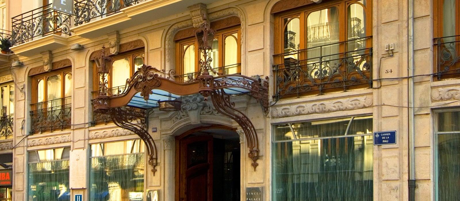 Aussenansicht - Vincci Palace 4*