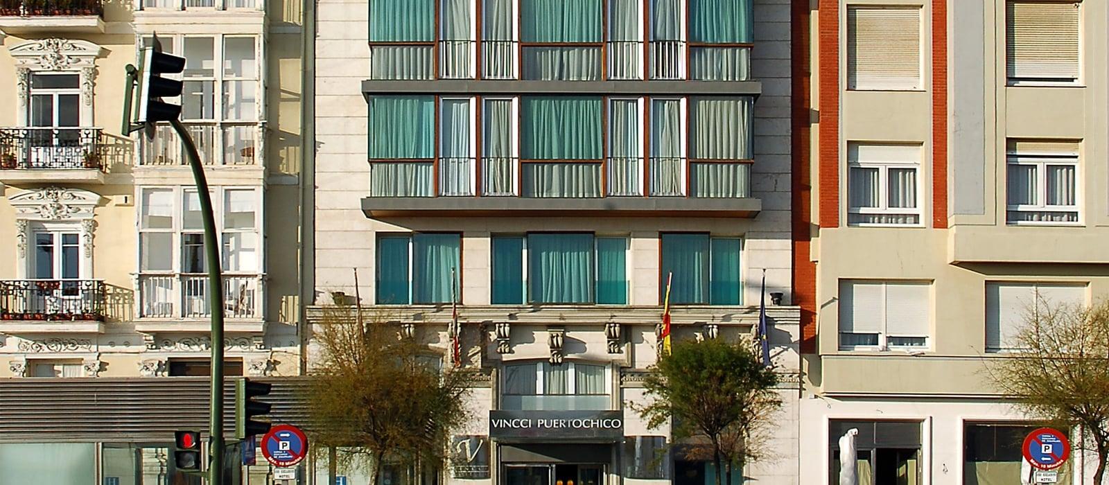 facciata-Hotel Santander Puertochico - Vincci Hoteles