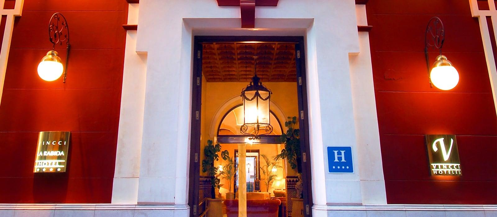 Detailansicht Fassade - Vincci La Rábida 4*