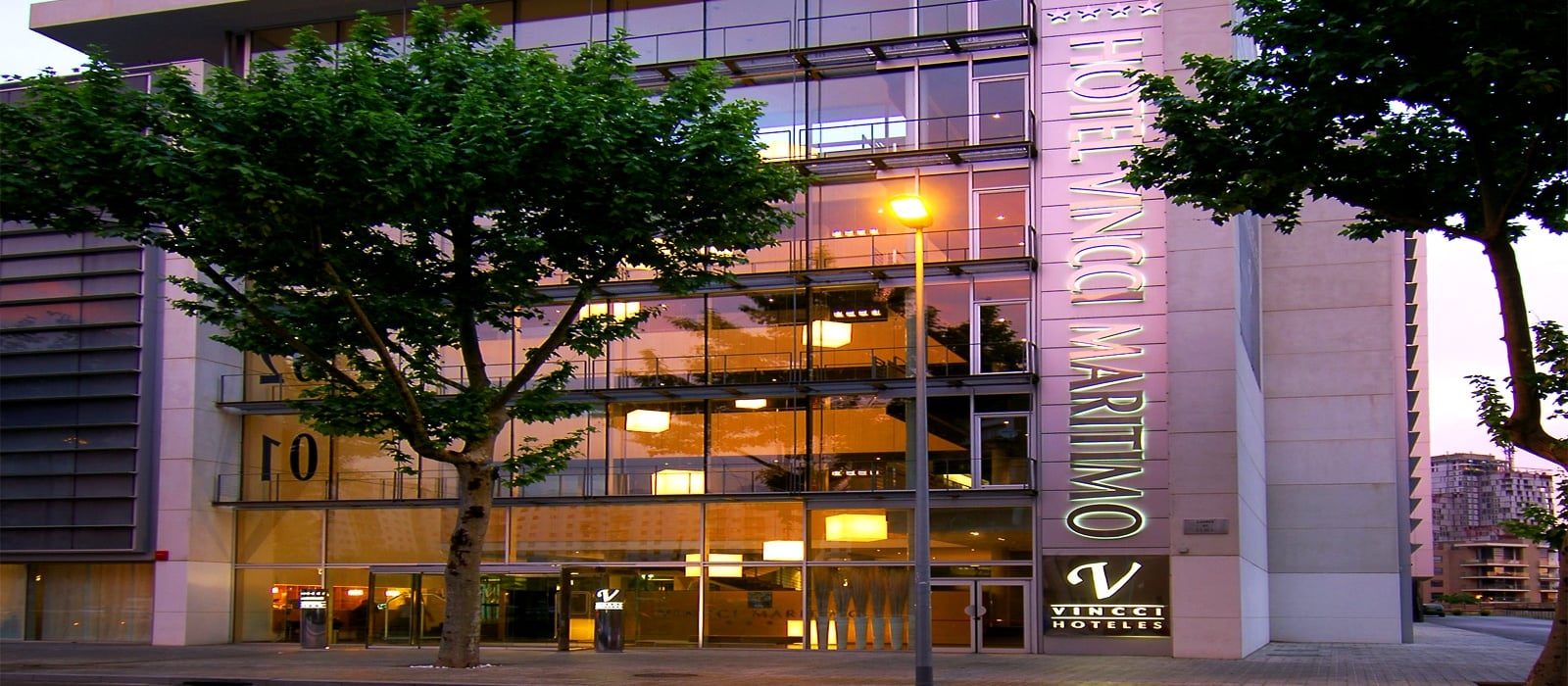 Front-Hotel in Barcelona Spain Maritimo - Vincci Hotels
