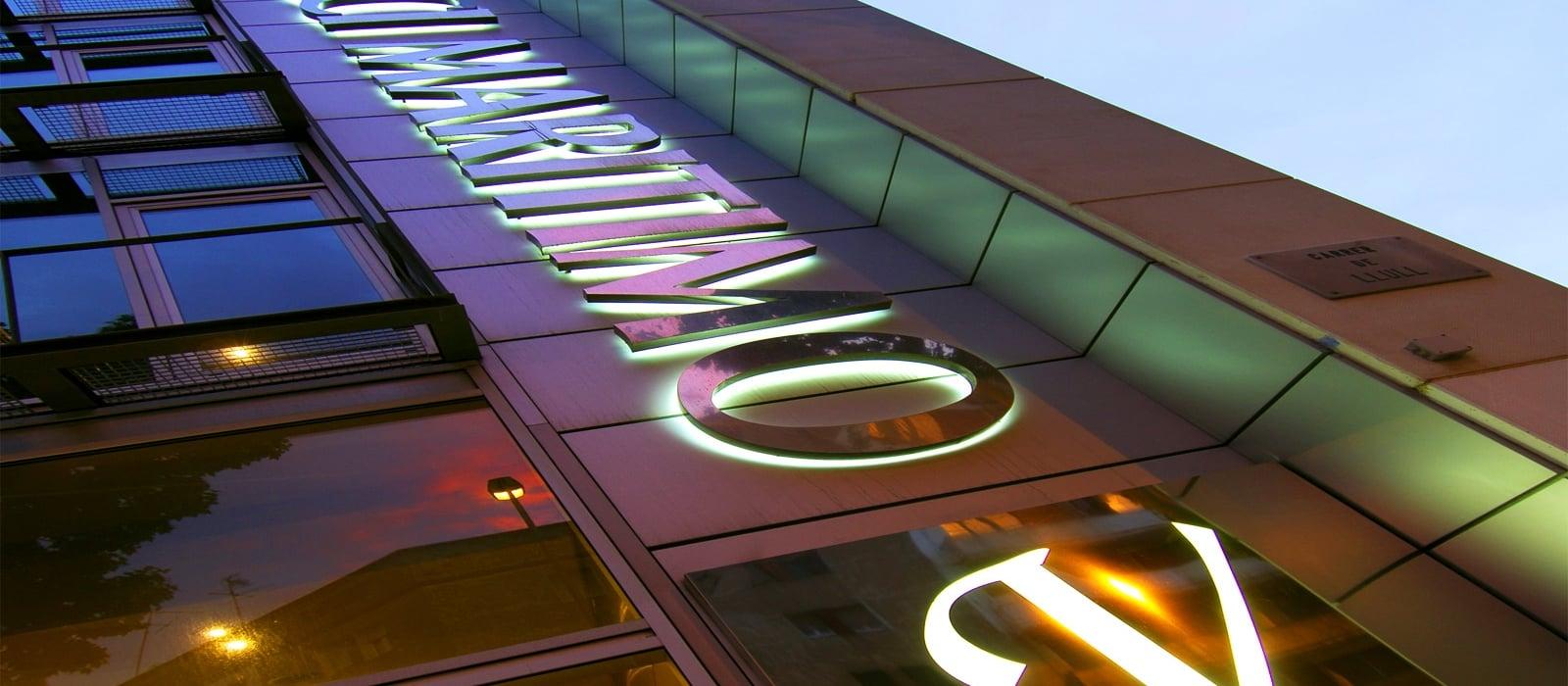 Fassade-Hotel Vincci Maritimo Barcelona