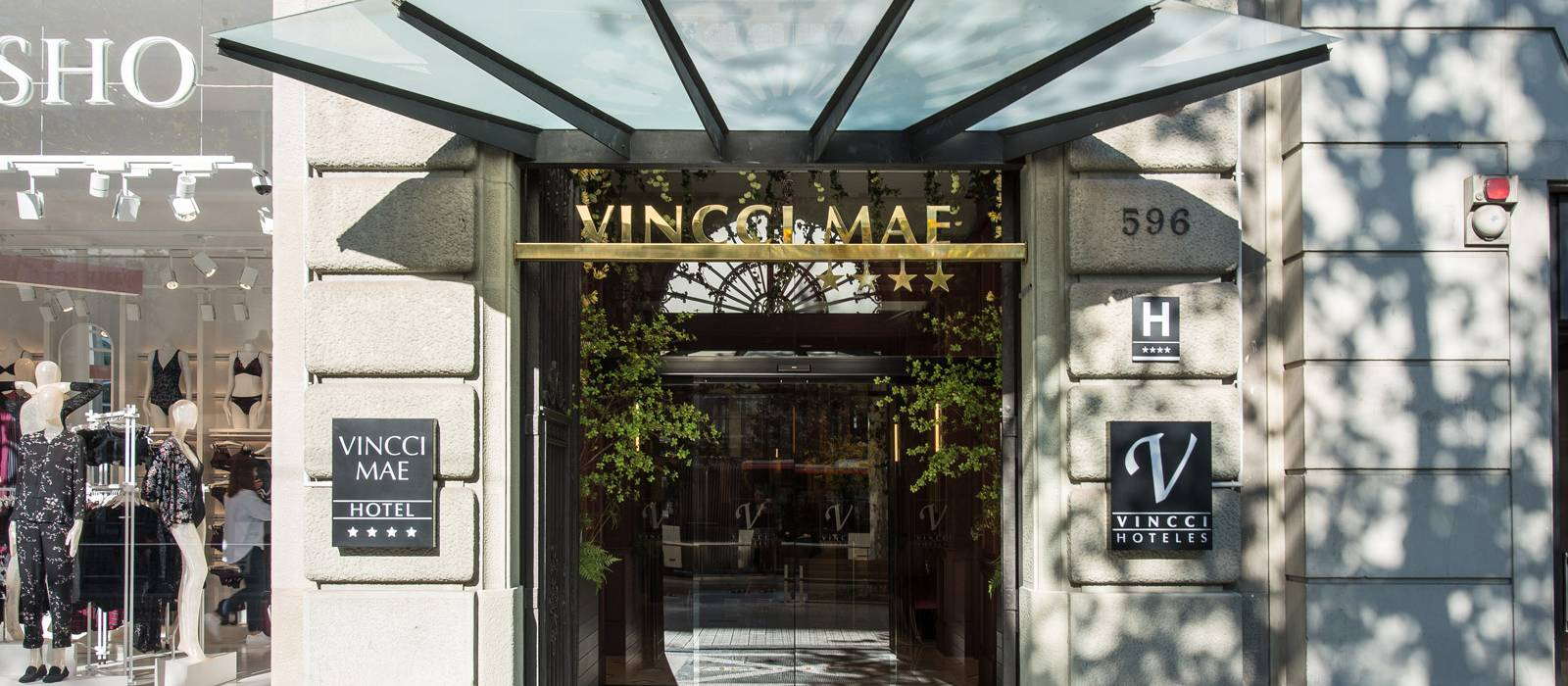Fassade - Vincci Mae 4*