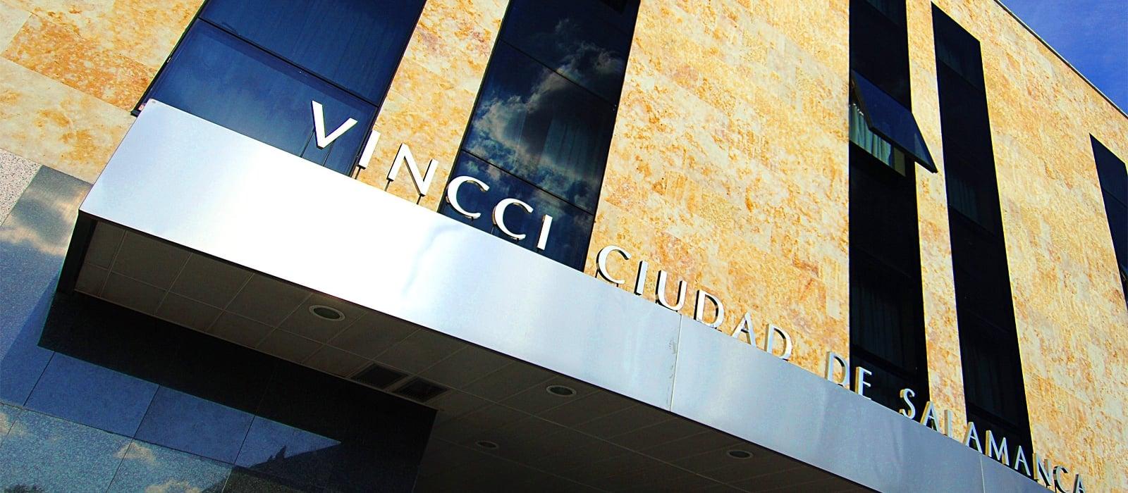 Façade-Hoteles Vincci. Hotel Vincci Ciudad de Salamanca