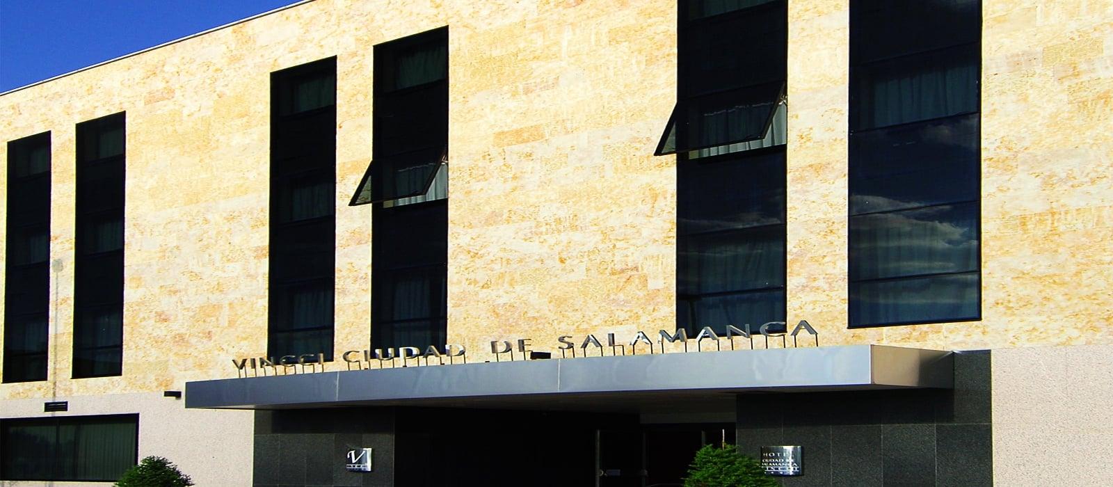 facciata-Vincci Málaga-Hoteles Vincci. Hotel Vincci Ciudad de Salamanca