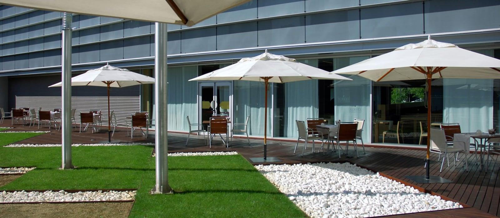 Servicios Hotel Barcelona Marítimo - Vincci Hoteles - Jardín Japonés