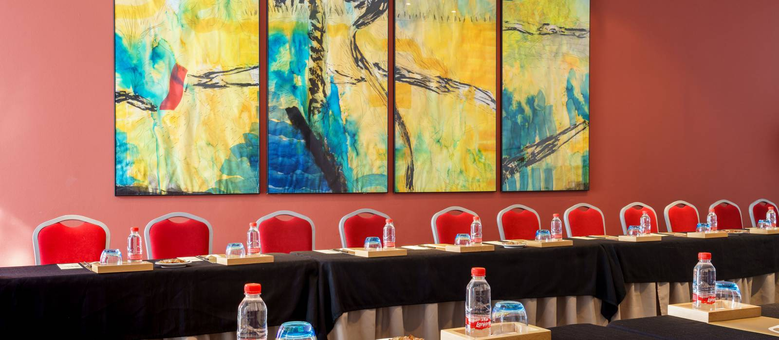 Servizi Hotel Malaga - Hotel Vincci - Il salone