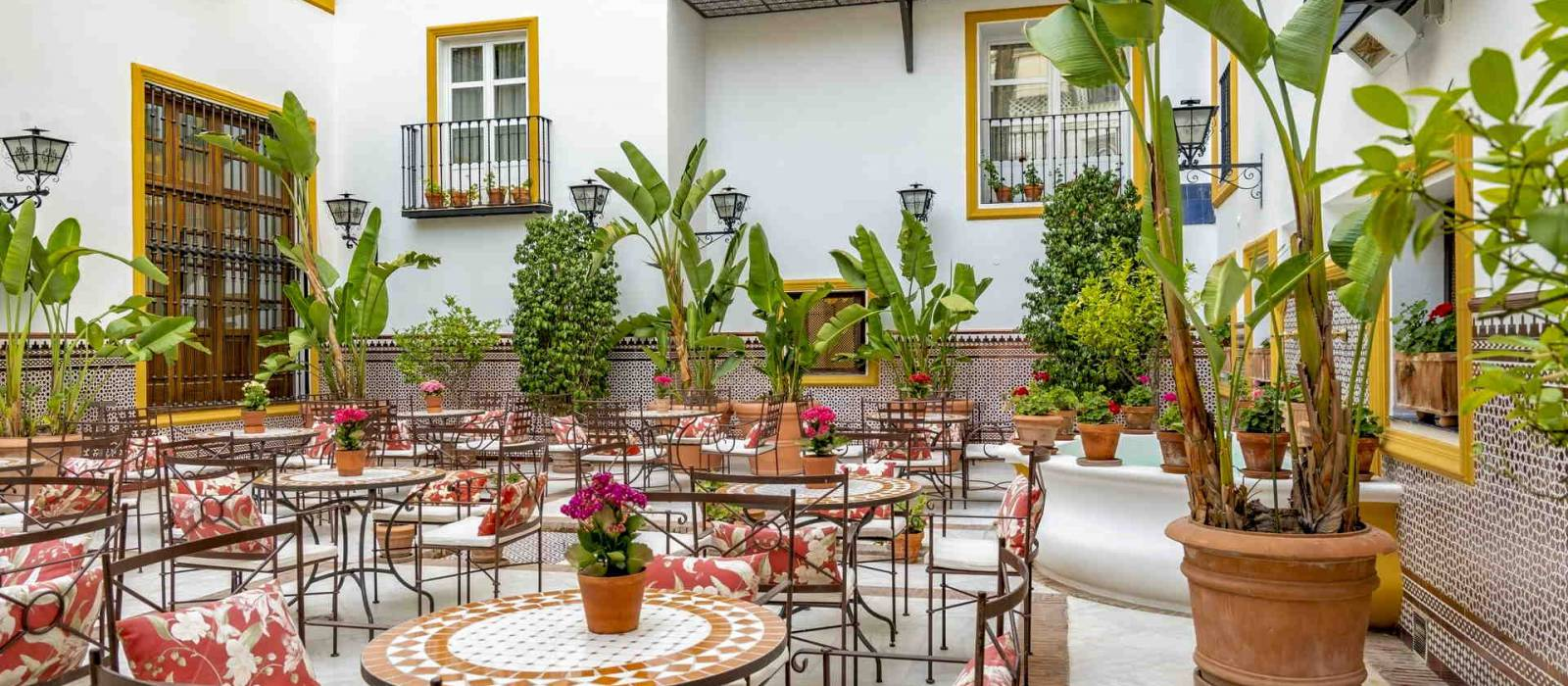 Services Hôtel La Rabida Sevilla - Vincci Hoteles - Patio Andaluz