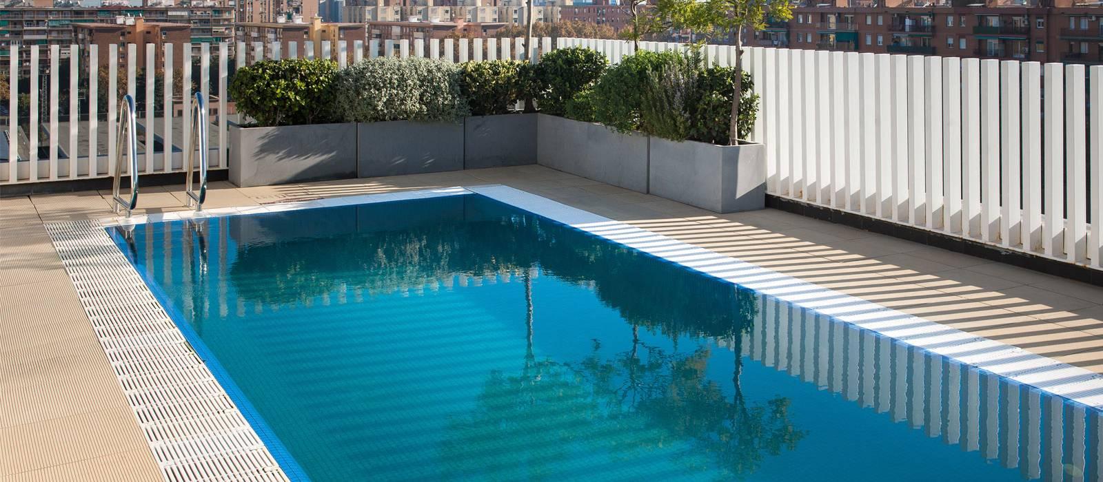 Mini pool mit Sonnenterrasse - Vincci Bit 4*