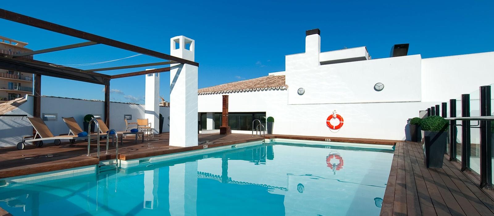 Dienstleistungen Hotel Posada del Patio Málaga - Vincci Hoteles - Plunge pool