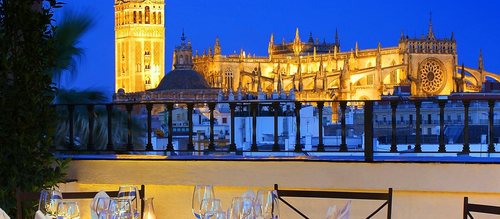 Services Hotel Sevilla La Rábida - Vincci Hotels - Restaurant El Mirador