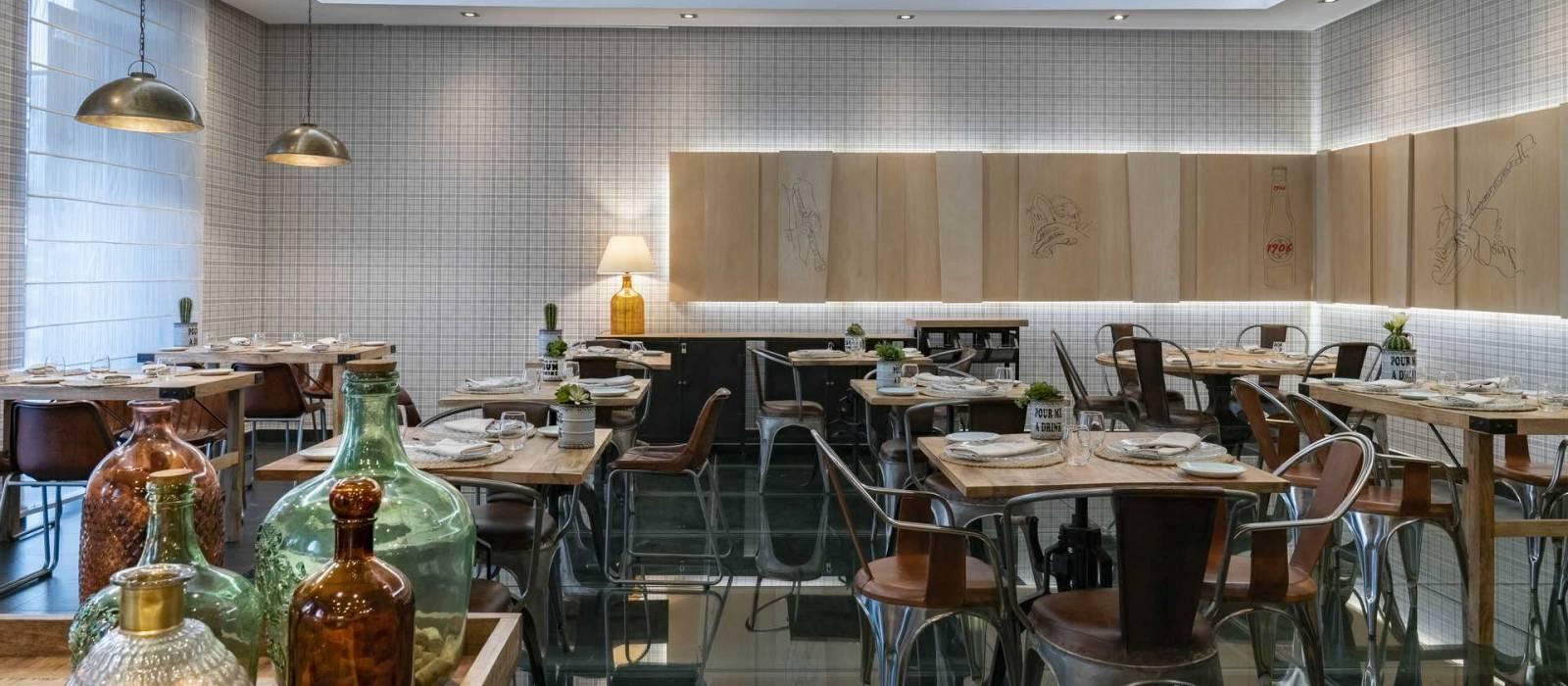 Das Hotel Vincci Posada del Patio liegt im Zentrum von Malaga und verfügt über ein Restaurant