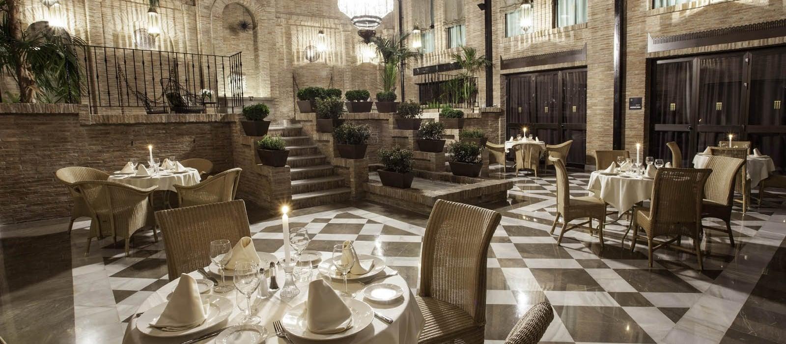 Restaurant Hotel Granada Albayzín Vincci Hotels