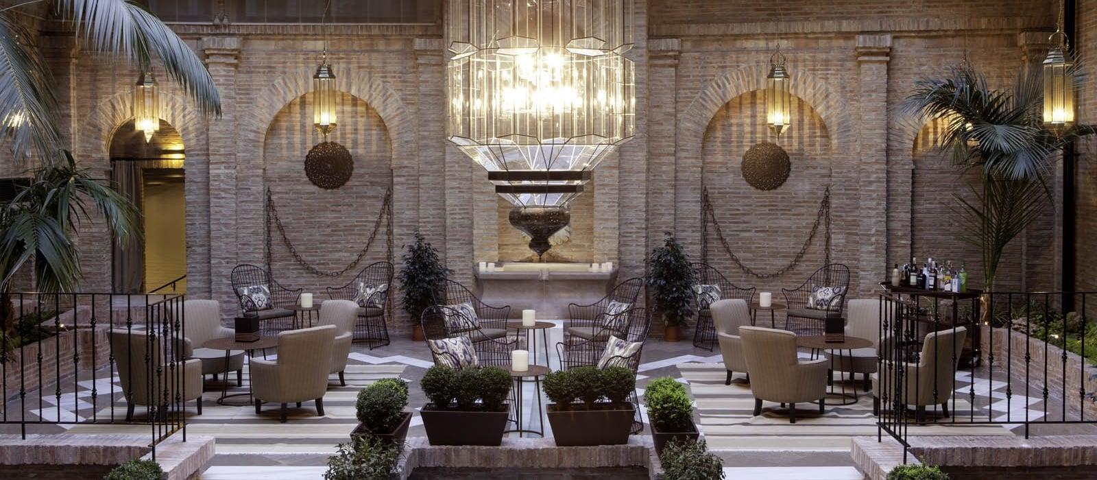 Servicios Hotel Granada Albayzín - Vincci Hoteles - Salones