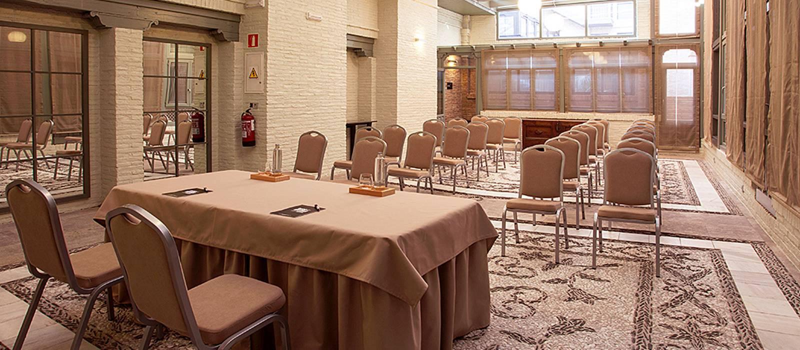 Réunions et événements Hôtel Grenade Albayzín- Vincci Hoteles