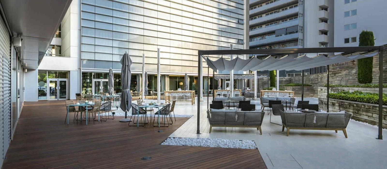 Services Hotel Barcelona Marítimo 2 - Vincci Hotels - Jardí de Mar Terrace