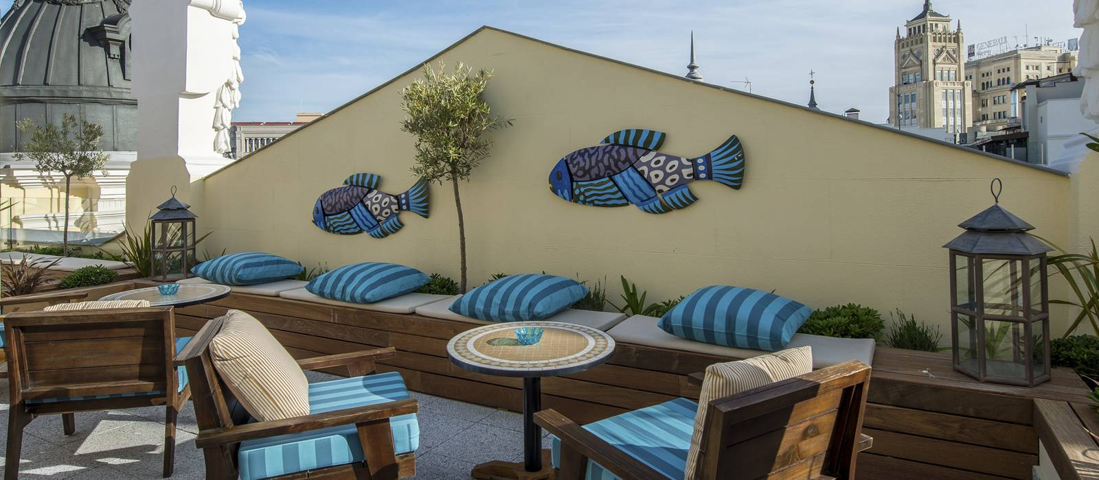 Rooftop Terrace - Vincci The Mint 4* - Madrid