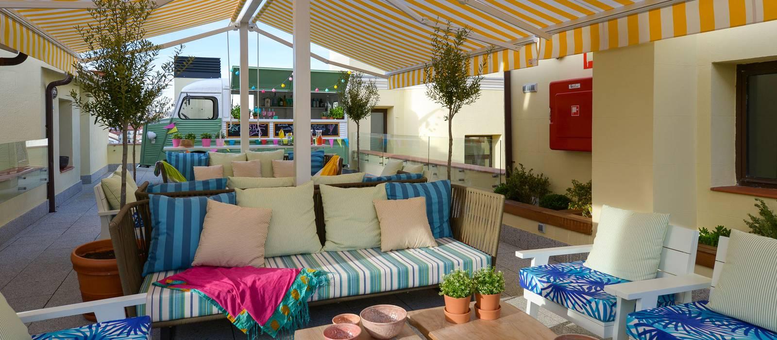 Rooftop terrace hotel vincci the mint 4 - Hoteles vincci barcelona ...