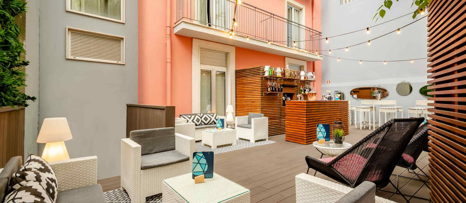 Terrace Ar Bar - Vincci Liberdade