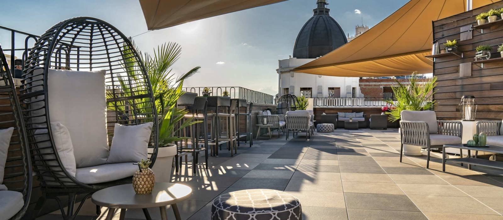 Terrazza Roof 66 - Hotel Madrid Via 66